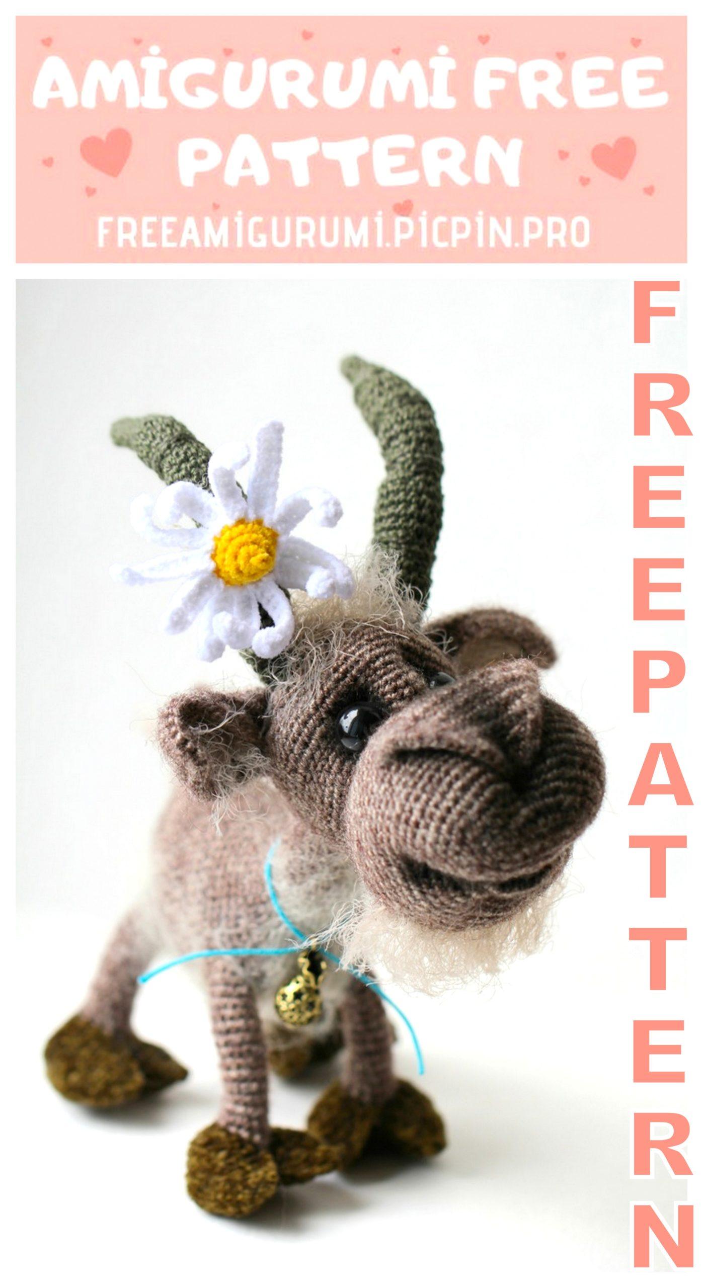crochet billy goat | http://lomets.com | 2560x1397